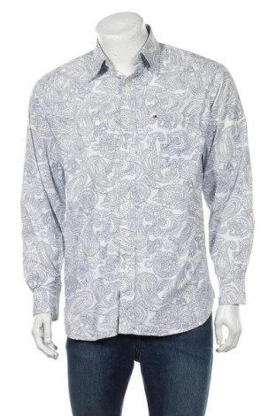 Ανδρικό πουκάμισο Tommy Hilfiger, Μέγεθος M, Χρώμα Μπλέ, Βαμβάκι, Τιμή 22,73€