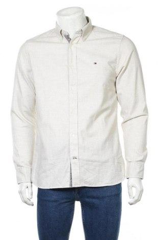 Ανδρικό πουκάμισο Tommy Hilfiger, Μέγεθος M, Χρώμα Γκρί, Βαμβάκι, Τιμή 45,21€