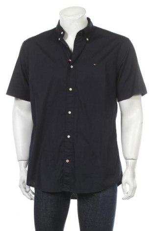 Ανδρικό πουκάμισο Tommy Hilfiger, Μέγεθος L, Χρώμα Μπλέ, 97% βαμβάκι, 3% ελαστάνη, Τιμή 38,21€