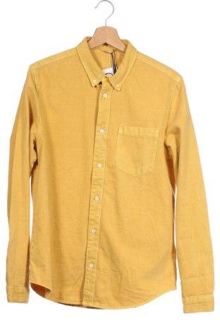 Ανδρικό πουκάμισο Tommy Hilfiger, Μέγεθος XS, Χρώμα Κίτρινο, Βαμβάκι, Τιμή 48,72€