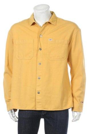 Ανδρικό πουκάμισο Tommy Hilfiger, Μέγεθος M, Χρώμα Κίτρινο, Βαμβάκι, Τιμή 43,27€