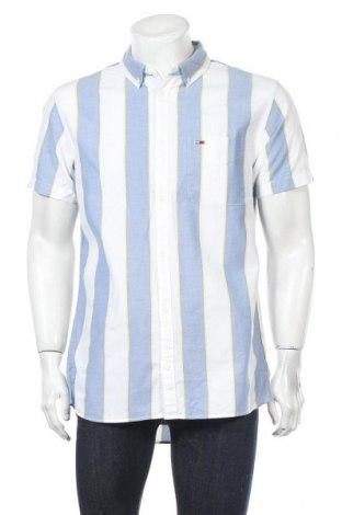 Ανδρικό πουκάμισο Tommy Hilfiger, Μέγεθος L, Χρώμα Λευκό, Βαμβάκι, Τιμή 46,01€