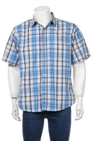 Мъжка риза Wrangler, Размер L, Цвят Многоцветен, Памук, Цена 28,35лв.