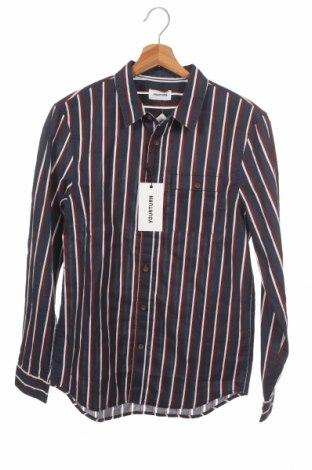 Мъжка риза Your Turn, Размер XS, Цвят Син, Памук, Цена 42,00лв.