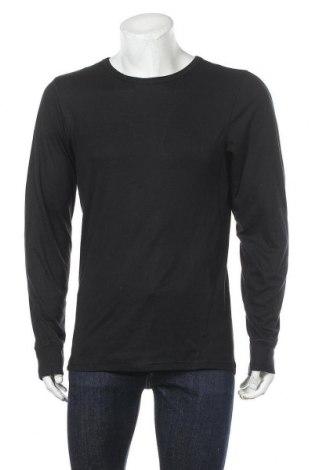 Мъжка спортна блуза Active By Tchibo, Размер L, Цвят Черен, 97% полиестер, 3% еластан, Цена 15,12лв.