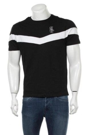 Мъжка тениска Brave Soul, Размер M, Цвят Черен, Цена 19,50лв.