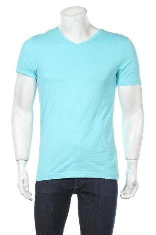 Ανδρικό t-shirt Christian Berg, Μέγεθος S, Χρώμα Μπλέ, Βαμβάκι, Τιμή 10,44€