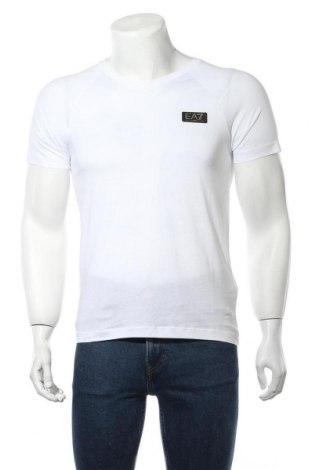 Ανδρικό t-shirt Emporio Armani, Μέγεθος XS, Χρώμα Λευκό, Βαμβάκι, Τιμή 65,33€