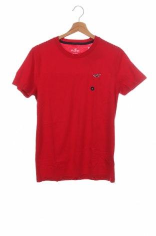 Ανδρικό t-shirt Hollister, Μέγεθος XS, Χρώμα Κόκκινο, Βαμβάκι, Τιμή 11,14€