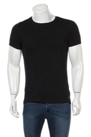 Мъжка тениска Marc O'Polo, Размер S, Цвят Черен, 93% памук, 7% еластан, Цена 8,20лв.