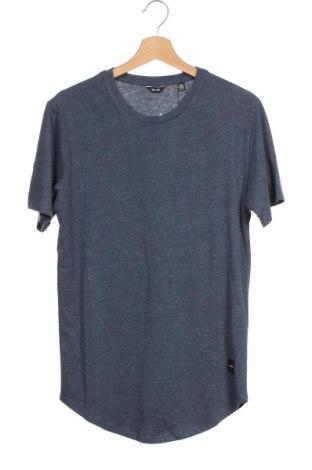 Мъжка тениска Only & Sons, Размер XS, Цвят Син, 65% памук, 35% полиестер, Цена 11,20лв.