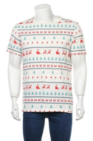 Мъжка тениска Target, Размер L, Цвят Многоцветен, Памук, Цена 16,80лв.