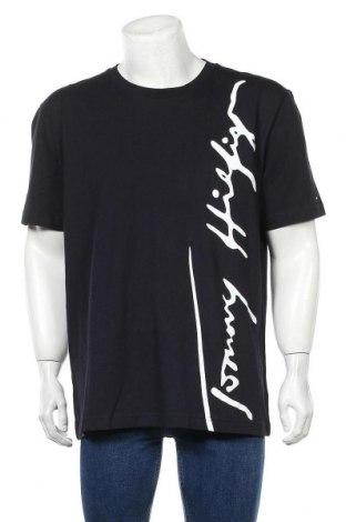 Ανδρικό t-shirt Tommy Hilfiger, Μέγεθος 3XL, Χρώμα Μαύρο, Βαμβάκι, Τιμή 139,86€