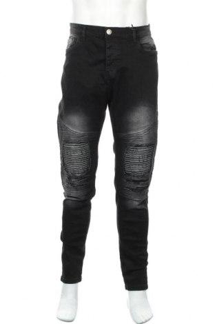 Мъжки дънки Brave Soul, Размер L, Цвят Черен, 98% памук, 2% еластан, Цена 36,00лв.