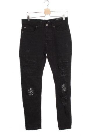 Мъжки дънки Brave Soul, Размер M, Цвят Черен, 98% памук, 2% еластан, Цена 25,76лв.