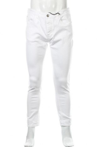 Мъжки дънки Brave Soul, Размер M, Цвят Бял, 98% памук, 2% еластан, Цена 44,25лв.