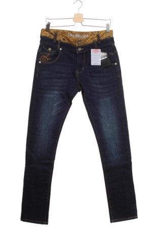 Мъжки дънки Desigual, Размер S, Цвят Син, 99% памук, 1% еластан, Цена 27,04лв.