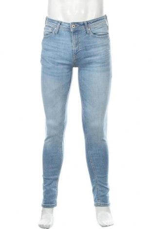 Pánské džíny  Jack & Jones, Velikost S, Barva Modrá, 85% bavlna, 13% polyester, 2% elastan, Cena  404,00Kč