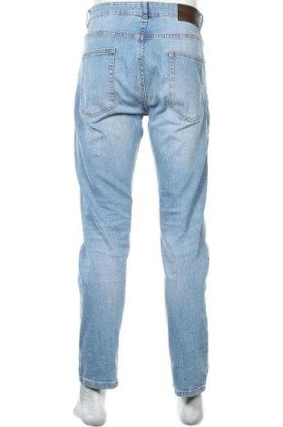 Мъжки дънки Pier One, Размер L, Цвят Син, 99% памук, 1% еластан, Цена 29,68лв.