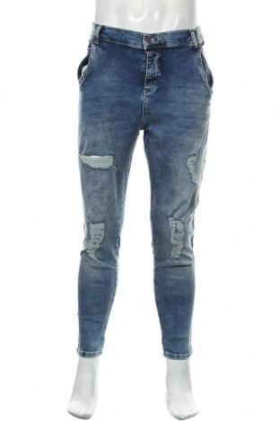 Ανδρικό τζίν SikSilk, Μέγεθος XL, Χρώμα Μπλέ, 98% βαμβάκι, 2% ελαστάνη, Τιμή 18,95€