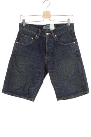 Мъжки къс панталон, Размер S, Цвят Син, Памук, Цена 7,35лв.