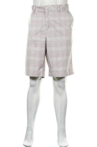 Мъжки къс панталон, Размер XL, Цвят Сив, 96% полиестер, 4% еластан, Цена 4,73лв.