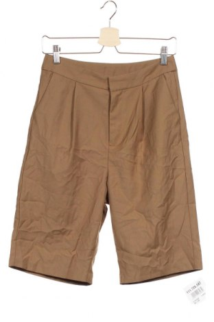 Мъжки къс панталон, Размер XS, Цвят Кафяв, Цена 4,73лв.