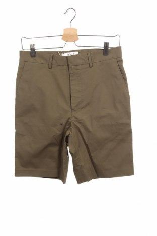 Ανδρικό κοντό παντελόνι, Μέγεθος S, Χρώμα Πράσινο, 97% βαμβάκι, 3% ελαστάνη, Τιμή 13,92€