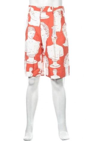 Ανδρικό κοντό παντελόνι, Μέγεθος M, Χρώμα Κόκκινο, Βισκόζη, Τιμή 17,78€