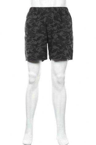 Мъжки къс панталон Active By Tchibo, Размер L, Цвят Многоцветен, 92% полиестер, 8% еластан, Цена 4,73лв.