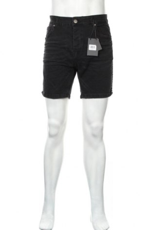 Ανδρικό κοντό παντελόνι Brave Soul, Μέγεθος XL, Χρώμα Μαύρο, 98% βαμβάκι, 2% ελαστάνη, Τιμή 20,88€