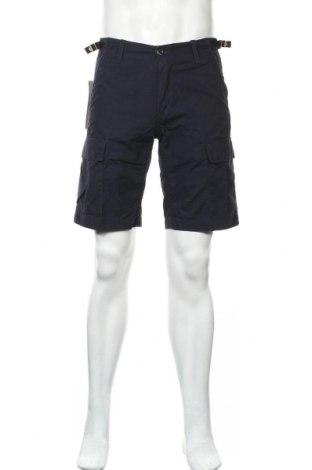 Ανδρικό κοντό παντελόνι Carhartt, Μέγεθος M, Χρώμα Μπλέ, Βαμβάκι, Τιμή 38,27€