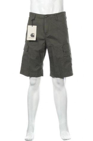 Ανδρικό κοντό παντελόνι Carhartt, Μέγεθος M, Χρώμα Πράσινο, Βαμβάκι, Τιμή 38,27€