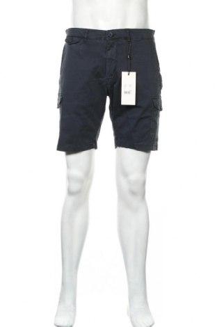 Ανδρικό κοντό παντελόνι Casual Friday, Μέγεθος L, Χρώμα Μπλέ, 98% βαμβάκι, 2% ελαστάνη, Τιμή 18,95€