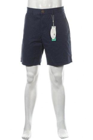 Мъжки къс панталон Edc By Esprit, Размер M, Цвят Син, Памук, Цена 40,50лв.