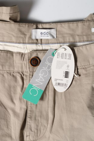 Мъжки къс панталон Edc By Esprit, Размер L, Цвят Бежов, Памук, Цена 17,28лв.