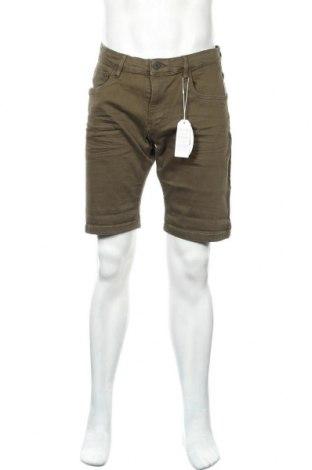 Мъжки къс панталон Edc By Esprit, Размер XL, Цвят Зелен, 98% памук, 2% еластан, Цена 21,12лв.