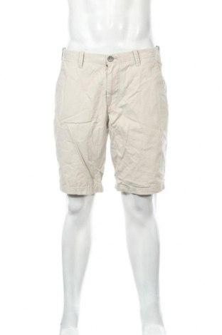 Мъжки къс панталон Express, Размер L, Цвят Бежов, Памук, Цена 15,44лв.