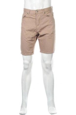 Ανδρικό κοντό παντελόνι H&M Divided, Μέγεθος S, Χρώμα  Μπέζ, Βαμβάκι, Τιμή 11,11€