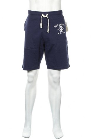 Мъжки къс панталон Izod, Размер XL, Цвят Син, Памук, Цена 36,75лв.