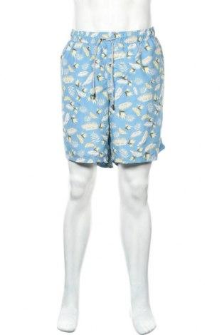 Мъжки къс панталон Jack & Jones, Размер XL, Цвят Син, Полиестер, Цена 44,25лв.