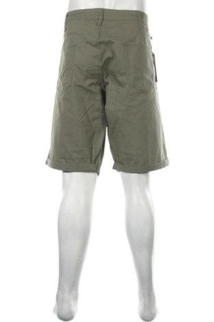 Мъжки къс панталон Jack & Jones, Размер 3XL, Цвят Зелен, 98% памук, 2% еластан, Цена 16,95лв.
