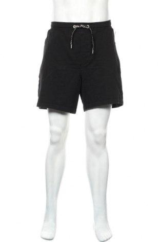 Ανδρικό κοντό παντελόνι Just Cavalli, Μέγεθος L, Χρώμα Μαύρο, Βαμβάκι, Τιμή 69,20€