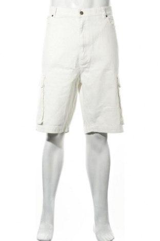 Мъжки къс панталон Karl Kani, Размер XL, Цвят Бял, Памук, Цена 31,06лв.