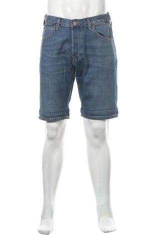 Мъжки къс панталон Lee, Размер M, Цвят Син, Памук, Цена 44,25лв.