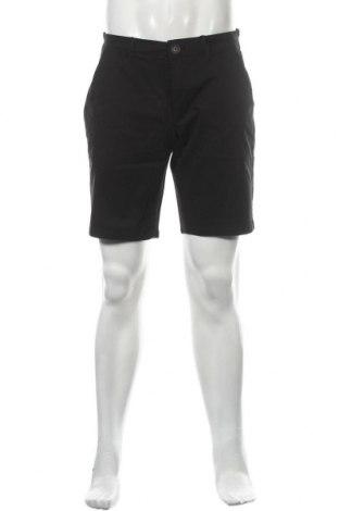Мъжки къс панталон Only & Sons, Размер M, Цвят Черен, 98% памук, 2% еластан, Цена 36,75лв.