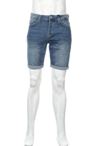 Ανδρικό κοντό παντελόνι Only & Sons, Μέγεθος M, Χρώμα Μπλέ, 79% βαμβάκι, 20% πολυεστέρας, 1% ελαστάνη, Τιμή 16,60€