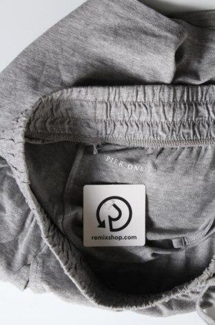 Мъжки къс панталон Pier One, Размер S, Цвят Сив, Памук, Цена 34,50лв.
