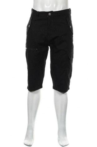 Мъжки къс панталон Pierre Cardin, Размер S, Цвят Черен, Памук, Цена 42,00лв.