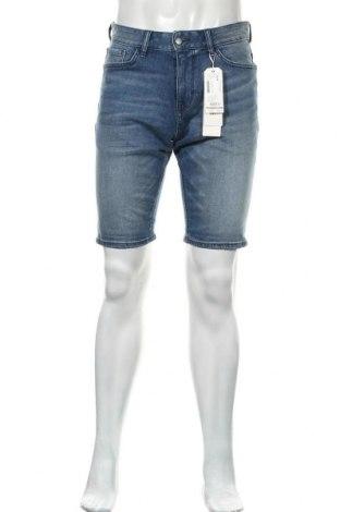 Ανδρικό κοντό παντελόνι Tom Tailor, Μέγεθος M, Χρώμα Μπλέ, 99% βαμβάκι, 1% ελαστάνη, Τιμή 18,95€